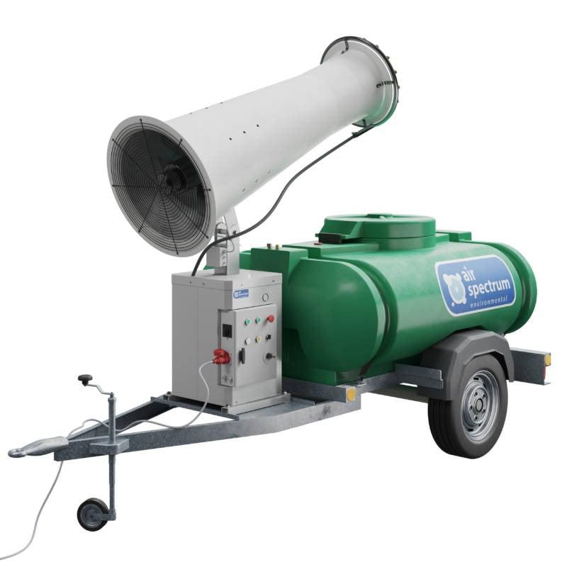 DC30 Dust cannon equipment