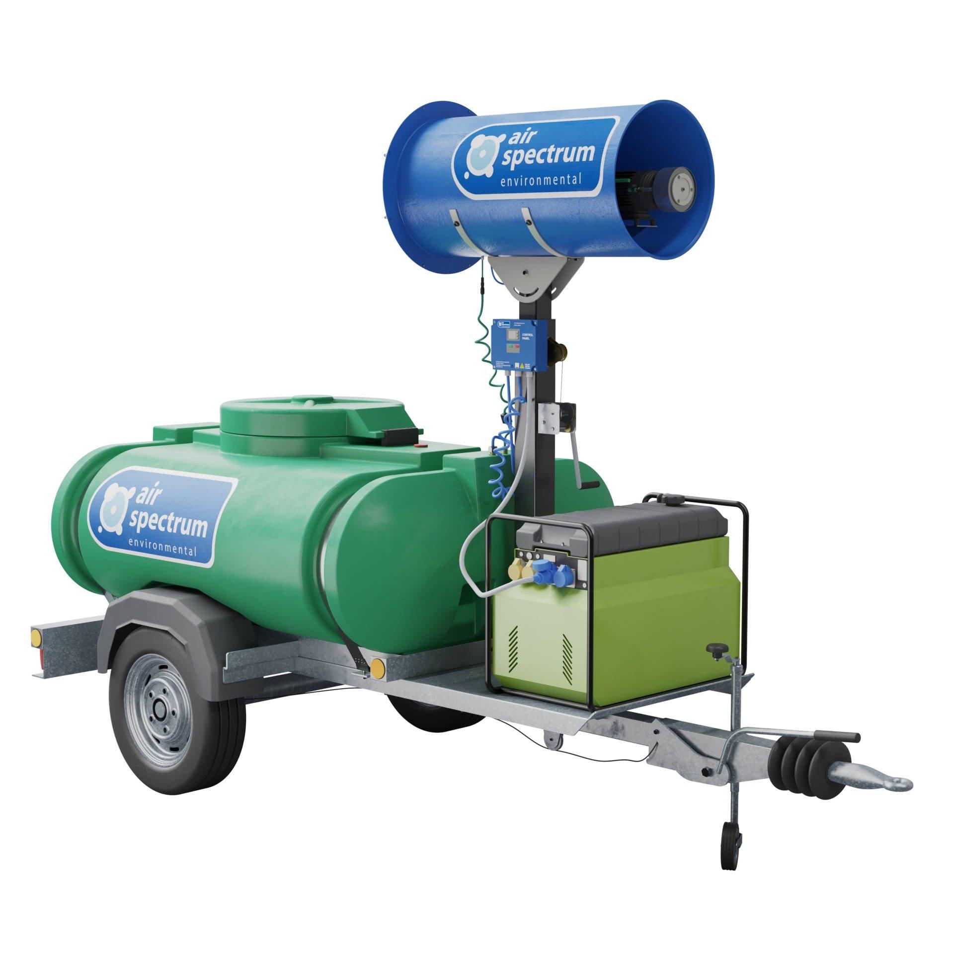Rotary Atomiser PRO misting system