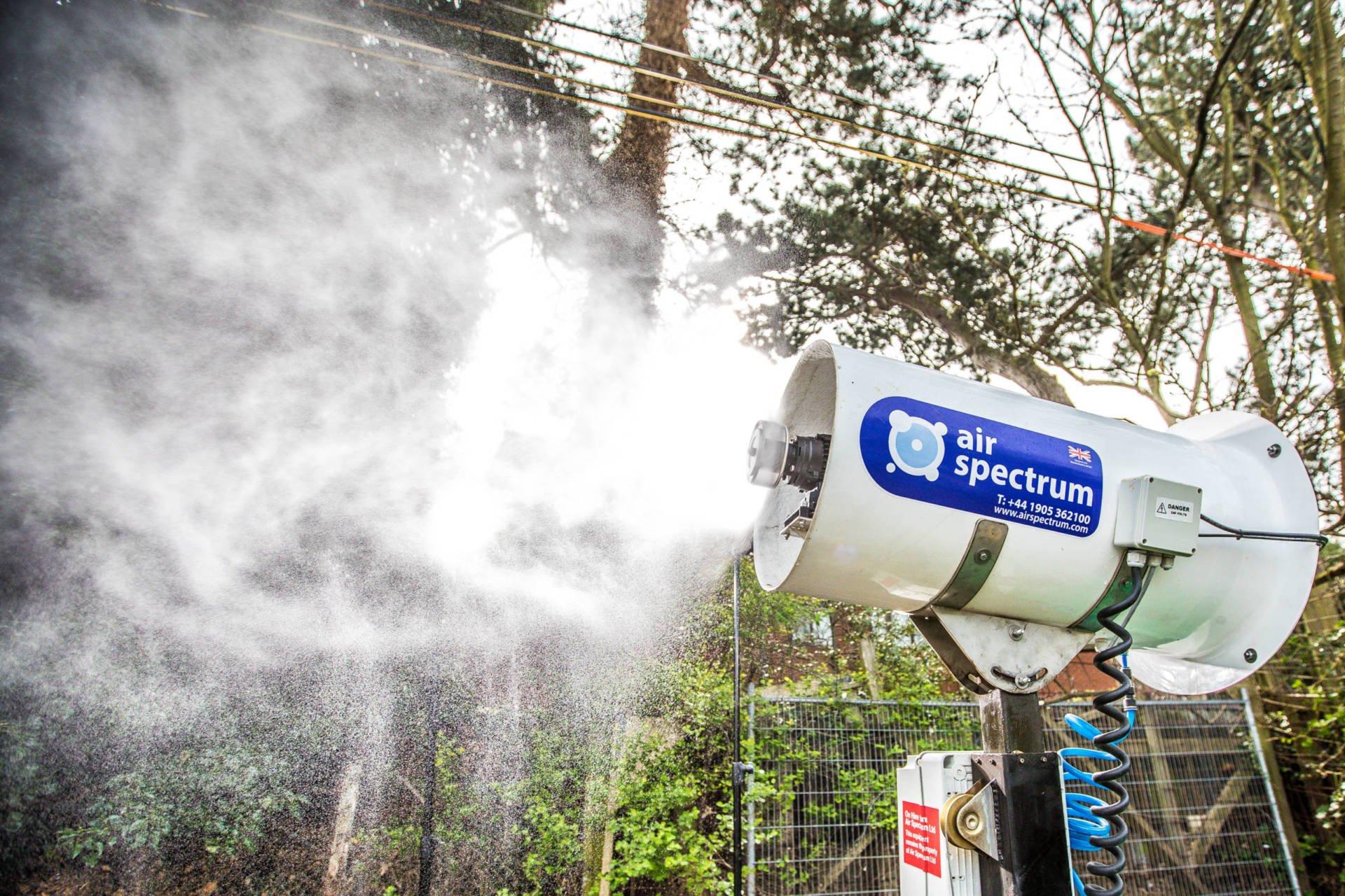 Rotary Atomiser Fogging Misting System