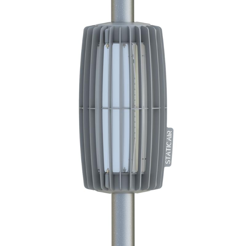 StaticAir Pamares clean air system