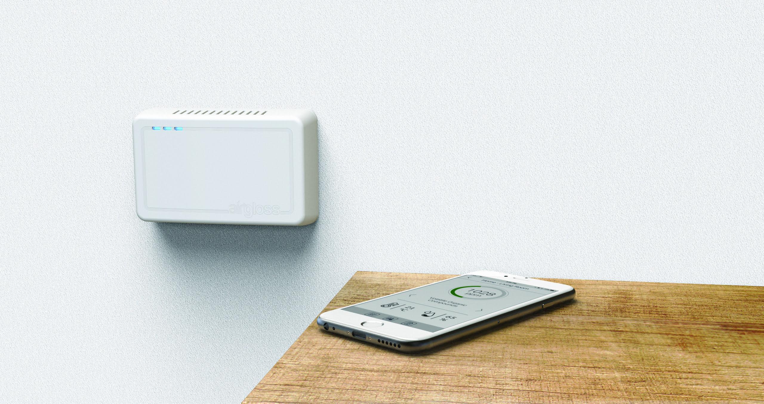 Airgloss Air Quality Monitor
